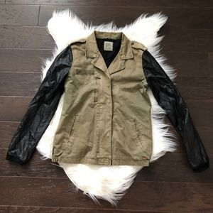 [Zara Trafuluc] Bomber Combo Jacket